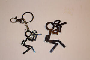 Paintball Emblem and Keychain