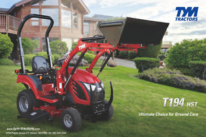 2017 TYM T194 * SPRING PACKAGE DEAL* PATTERSON SALES TRURO