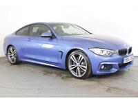 2015 65 BMW 4 SERIES 3.0 430D M SPORT 2D AUTO 255 BHP DIESEL