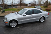 2007 Mercedes-Benz E-Class E550 4Matic Sedan