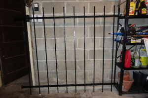 Wrought Iron Window Bars for Storefront