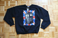 *NEW* Official DOCTOR WHO TARDIS Sweater.