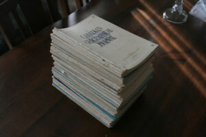 Vintage Canadian Geographic Journals
