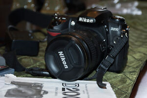 Nikon D200 Camera and accessories for sale