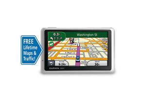 "Garmin Nuvi 1350LMT 4.3"" Car GPS Free Lifetime Maps & Traffic."