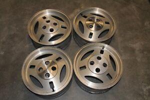Set of 4 Aluminum 390mm TRX Wheels for 1979 - 1984 Fox Mustang