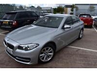 2014 14 BMW 5 SERIES 2.0 520D SE 4D AUTO-BLUETOOTH-USB-BLACK DAKOTA LEATHER-PROF