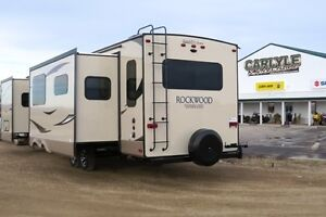 2017 Rockwood 8328BS - Rear Entertainment Outside Kitchen -Trave