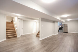 1 Bdrm + 1 Bath Basement apartment For Lease in S/E Barrie