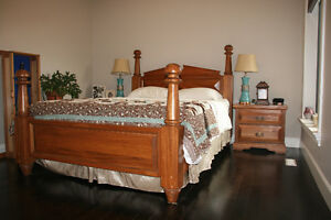 Solid Ash Queen Bedroom Suite