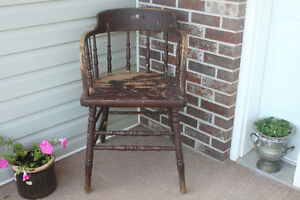 Antique Chair (would look great upcycled to black)