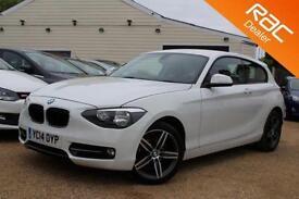 2014 14 BMW 1 SERIES 2.0 118D SPORT 3D 141 BHP DIESEL - RAC DEALER
