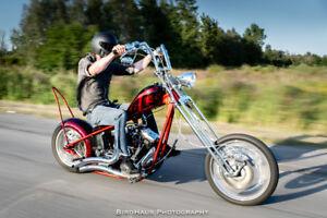 Custom Harley Chopper