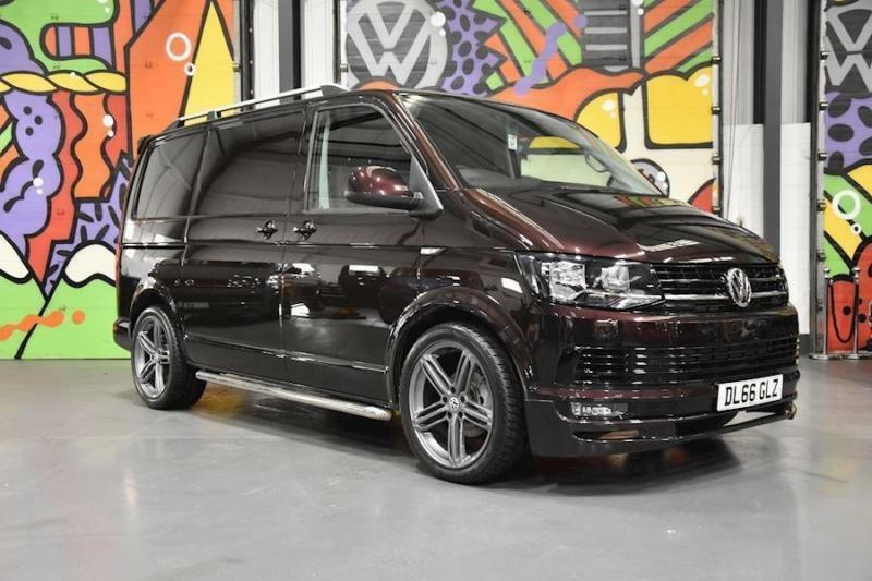 f3cfa08a40 2016 VW TRANSPORTER T6 T28 SWB 2.0TDI 150PS HIGHLINE P V SPORTLINE PK  BLACKBERRY