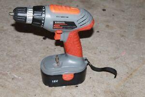 Terratek 18 Volt Cordless Drill
