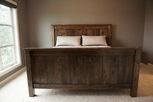 Reclaimed Wood Bed Frame, Choice of Colours. And More! By LIKEN Woodworks