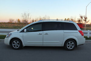 2009 Nissan Quest S Minivan, with DVD Player