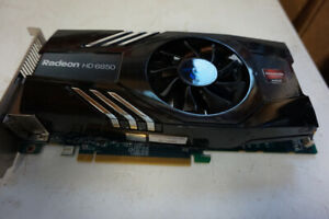 AMD Radeon HD6850 PCIe Graphics Card