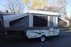 Pop up, Fold down tent trailer.  One owner. Great Shape.