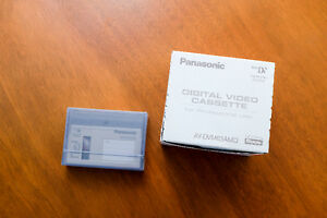 Panasonic AY-DVM63AMQ Mini DV Tape Advanced Master Quality 63 Mi