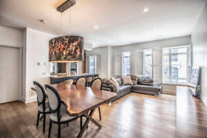 Furnished, Executive Townhome In Prime Yorkville Location