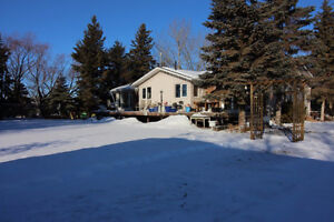 Well maintained 1500 FT2 house on acreage. Suitable for horses