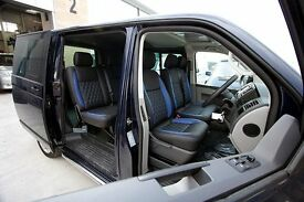 VW VOLKSWAGEN TRANSPORTER LEATHER SEAT COVERS