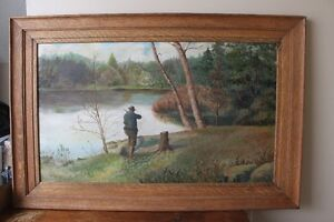 Antique Turn of the Century Painting