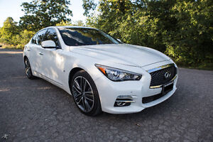 2015 Infiniti Q50 AWD Limited-Driver Assist + Tech + Dlx Touring