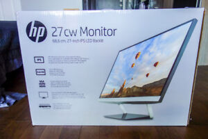 HP Pavilion 27cw 27-inch IPS LED Backlit Monitor