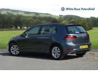 2017 Volkswagen Golf SE Nav 1.4 TSI 125PS 7-speed DSG 5 Door Petrol grey Semi Au