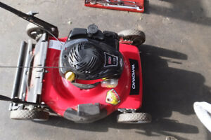 almost new condition lawnmower for sale