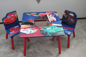 Cars Table & Chairs