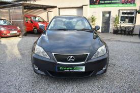 Lexus IS 250 2.5 Sport 4 DOOR SALOON GREY 2007 MODEL