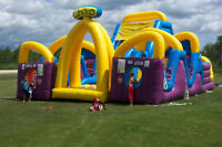 Playworld is booking inflatables for Christmas & Holiday Parties