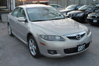 2007 Mazda Mazda6 GT *ONE OWNER   NO ACCIDENTS   FULLY LOADED* City of Toronto Toronto (GTA) Preview