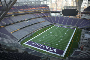 Minnesota Vikings Tickets Aug 28 - 1st Game ever at new Stadium