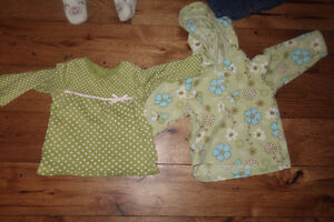 12-18 and 18-24 month box of 60+ items of girls clothing Cambridge Kitchener Area image 6