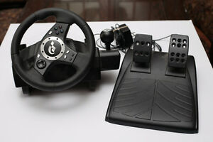 Logitech Driving Force wheel for PC and PS 2/3