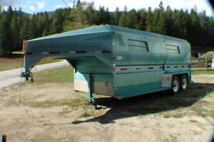 1995 NORBERT STOCK & HORSE TRAILER