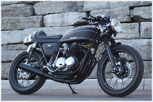 1977 Honda CB550 Cafe Racer Motorcycle