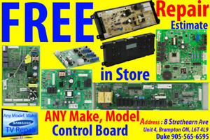 Control Board, WE FIX, Repair FREE ESTIMATE in Store