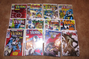 Venom comic books from Marvel