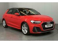 2019 Audi A1 35 TFSI S Line 5dr S Tronic HATCHBACK Petrol Automatic