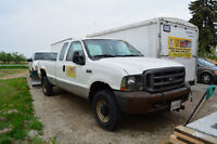 SNOW REMOVAL EQUIPPED: 2004 Ford Pickup Truck