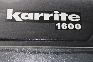 Karrite 1600 -ski/snowboard/ lockable  roof carrier