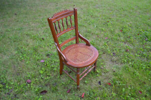Vintage Can Seat Chair