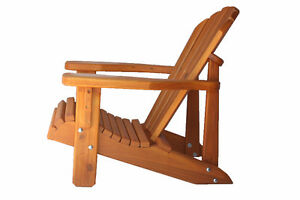 Cedar Adirondack Chair Solid Wood Furniture deals 30% OFF