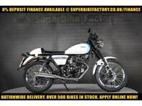 2016 66 SINNIS CAFE XF 125 0% DEPOSIT FINANCE AVAILABLE