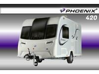 Bailey Phoenix Plus 420, NEW 2021 Touring Caravan